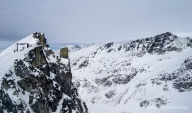 Top of Blackcomb Glacier.
