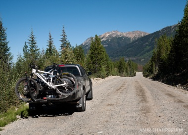 Hurley Pass FSR. On route to the Chilcotins.
