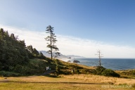 Looking south from Ecola State Park.